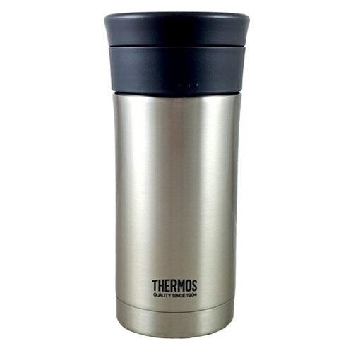 THERMOS 膳魔師 率性雙層真空保溫杯-不銹鋼色 (JMK-350-SBK-W) 350ml