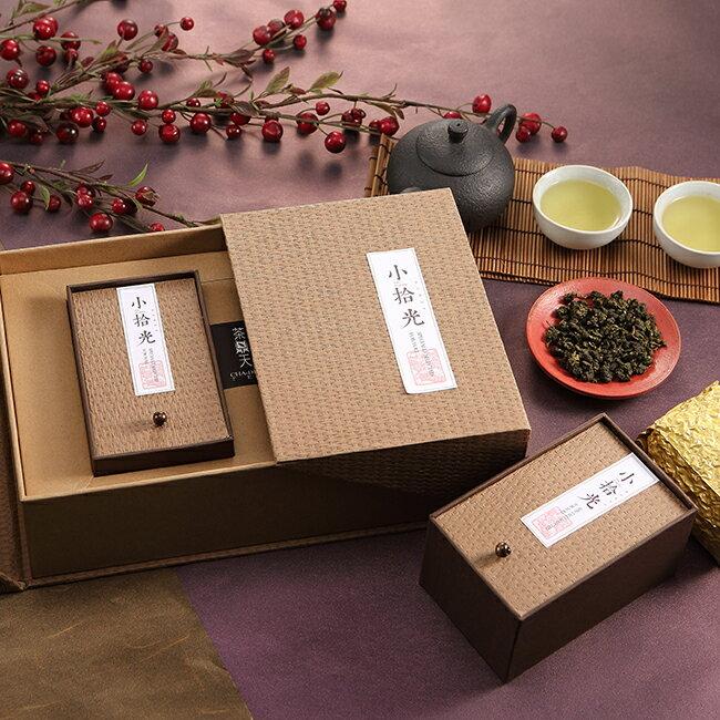 【茶鼎天】小拾光-阿里山烏龍茶禮盒(150gx2)香氣淡雅,自然回甘,山頭氣十足!★ 0