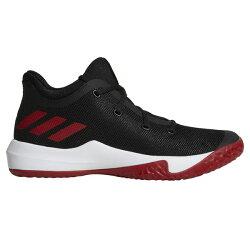 【ADIDAS】Rise Up 2 籃球鞋 運動鞋 黑色 黑紅 男鞋 -CQ0556