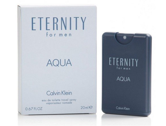 CK ETERNITY FOR MEN AQUA 永恆之水 男性淡香水 20ML 售完不補 ☆真愛香水★