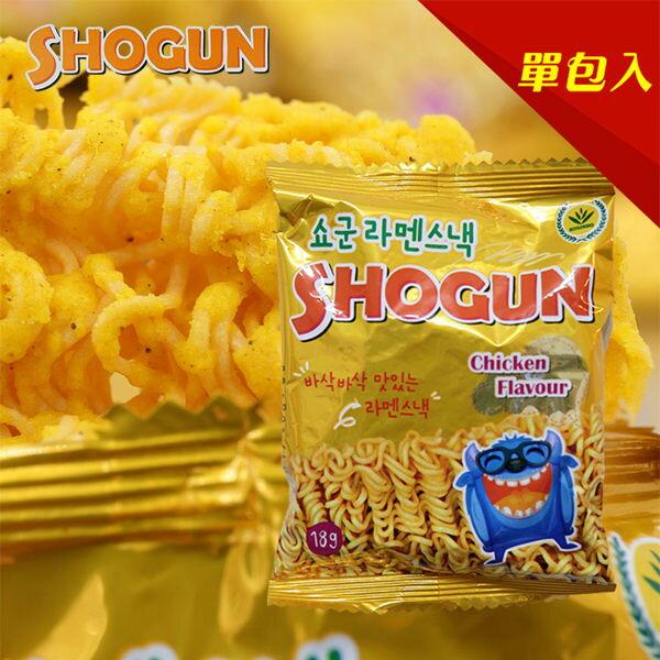 韓國 SHOGUN 怪獸香脆雞汁點心麵(隨手包) 18g【庫奇小舖】