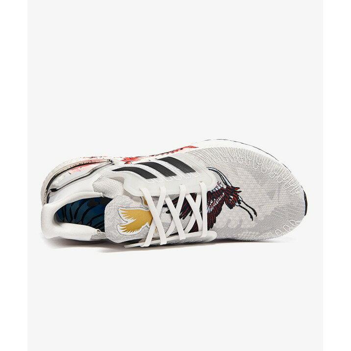 IMPACT Adidas Ultra Boost 20 CHN 新年限定 灰 編織 鶴 刺繡 慢跑鞋 FW4314