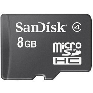 WholeSale 5 piece SanDisk 8GB microSDHC Class 4 8G microSD High Capacity micro SD SDHC C4 TF Flash Memory Card SDSDQ-008G 0