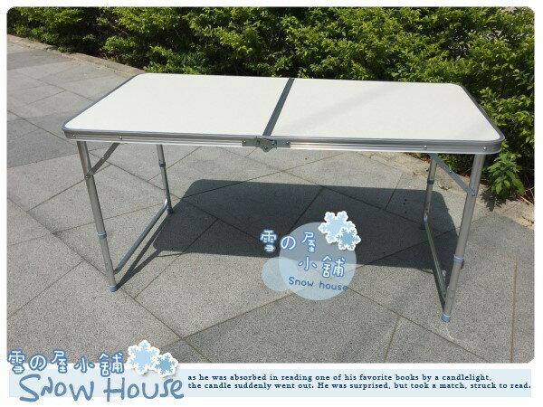 ╭☆雪之屋小舖☆╯@限時限量特價優惠@高級鋁合金折合桌折疊桌收納露營野餐桌 (無傘孔)