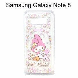 美樂蒂空壓氣墊軟殼[捧花]SamsungGalaxyNote8N950FD(6.3吋)【三麗鷗正版授權】