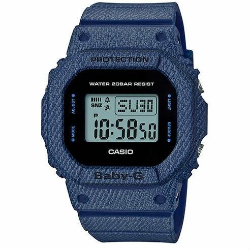 CASIO BABY-G BGD-560DE-2 牛仔丹寧流行腕錶/47*40mm