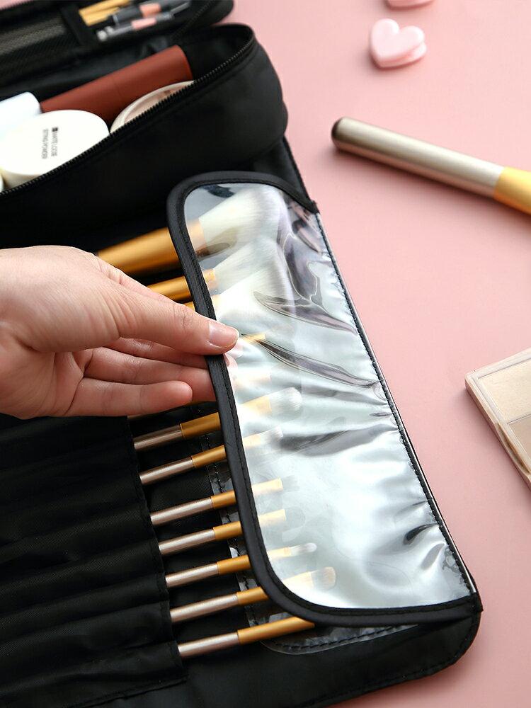 化妝品收納袋 化妝刷收納包女便攜大容量洗漱袋ins風超火網紅小號旅行化妝品包【xy5412】