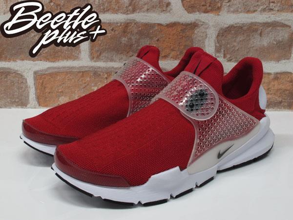 男生 BEETLE NIKE SOCK DART 紅色 紅白 襪套 慢跑鞋 平民版 819686-601 1