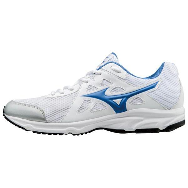 運動世界:MIZUNOMAXIMIZER19男鞋慢跑訓練網布透氣舒適寬楦白藍【運動世界】K1GA170029【單筆消費滿1000元全會員結帳輸入序號『CNY100』↘折100