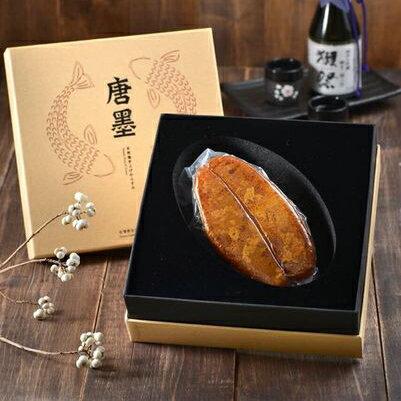 【唐墨烏魚子】(買)唐墨烏魚子-單片裝禮盒(150g±5%)*1 「再送 精緻小禮盒*1 (60g)」 1