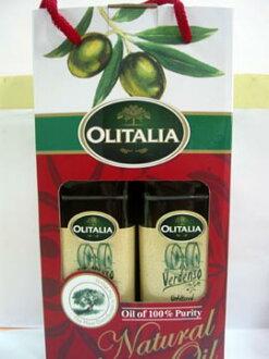 奧利塔Olitalia~手工未過濾冷壓橄欖油500ml/罐(2入禮盒)
