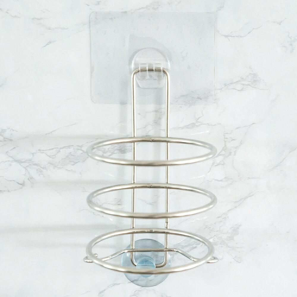吹風機架 / 無痕貼 peachylife霧面304不鏽鋼吹風機架 MIT台灣製 完美主義【C0053】 1