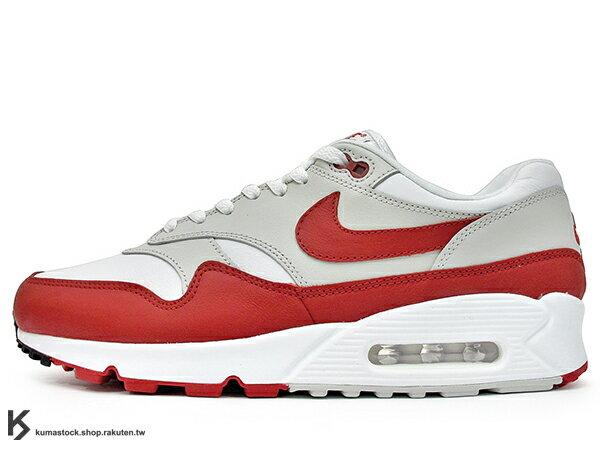 2018HYBRID合體限量發售NIKELABAIRMAX901白紅白灰紅OG配色90底氣墊慢跑鞋(AJ7695-100)!