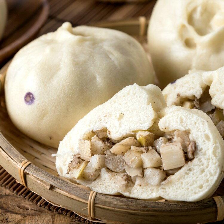 【简单馒头】竹笋肉包 5入组 110g/个 团购/肉包/小吃/冷冻食品/馒头