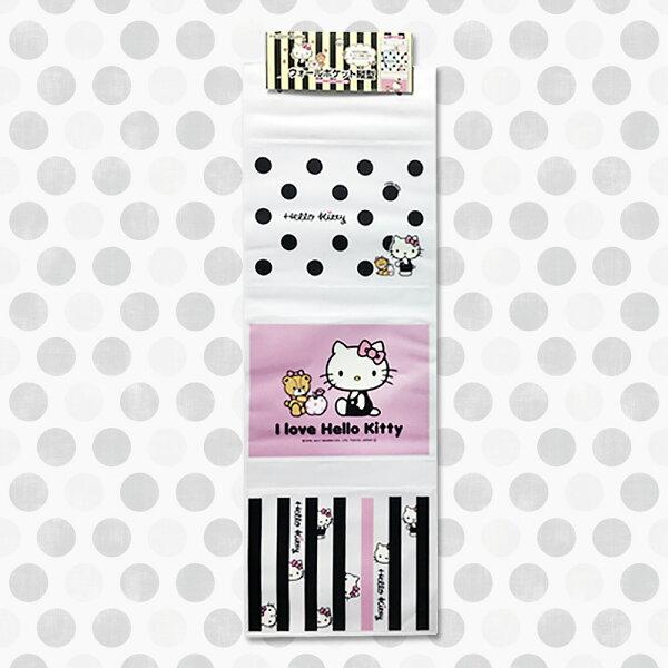 三麗鷗凱蒂貓壁掛收納袋置物袋收納架卡通日本進口正版573580