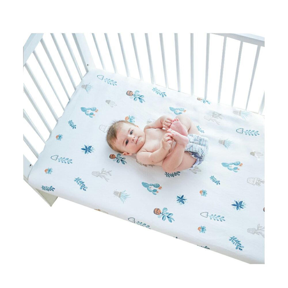 Muslintree純棉被單嬰兒床單床笠 嬰幼兒床罩-JoyBaby