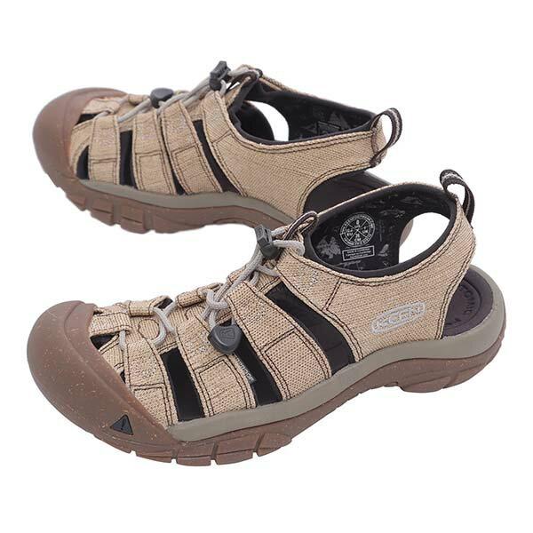 《台南悠活運動家》KEEN1018808男護趾涼鞋15周年紀念版砂岩