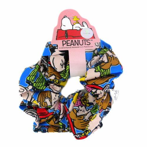 【真愛日本】15082900026 大腸圈髮束-SN人物藍 耳機 大腸圈 配件 髮飾 飾品 史努比 Snoopy