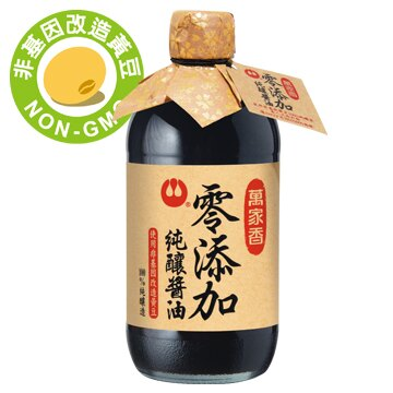 萬家香零添加純釀醬油450ml