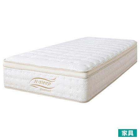 ◎低反發泡棉 雙層獨立筒單人床墊 N-SLEEP P2-2 S TW