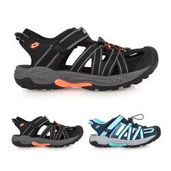 LOTTO 女護趾運動涼鞋(拖鞋 休閒涼鞋 海邊 海灘 戲水【02017212】≡排汗專家≡