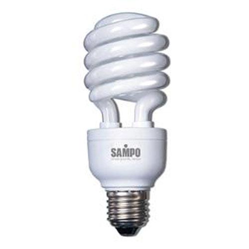 聲寶SAMPO 螺旋燈泡-白光 21W