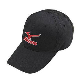 MIZUNO 美津濃 MCLINE 透氣 棉布 棒球帽 32TW760409 ( 黑 ) [陽光樂活]