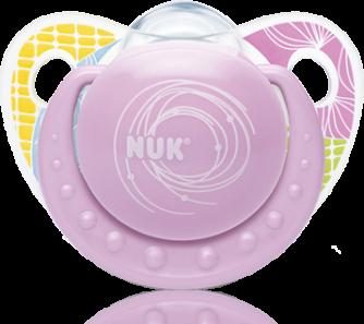 『121婦嬰用品館』NUK 安睡型矽膠安撫奶嘴 - 初生(2入) 3