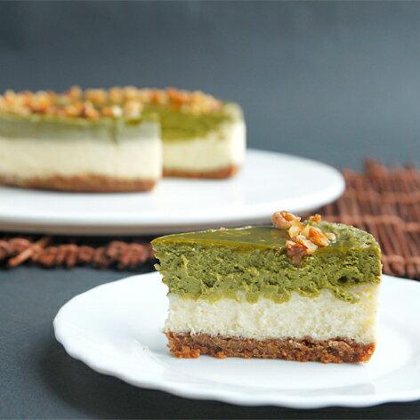 【透明烤箱】抹茶重乳酪蛋糕(6吋) 蛋糕 乳酪蛋糕 甜點 下午茶 點心