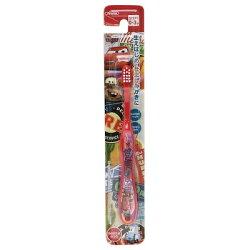 大賀屋 閃電麥坤 幼童 牙刷 0-3歲 適用 美齒 潔牙 口腔 護理 刷牙 汽車 迪士尼 日貨 正版 J00013138
