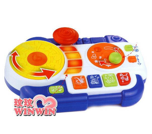 HAP-P-KID 小小學習家玩具BHK : 4222T DJ唱盤 ~ 在玩樂過程中充滿了驚奇與歡樂