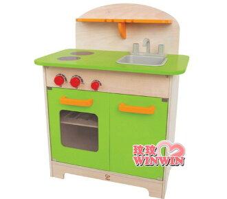德國 educo 愛傑卡 E - 3101AE 角色扮演廚房系列 - 大型廚具台(綠色)