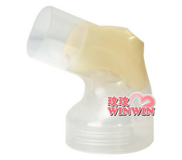 美樂 - 吸乳器零件 「手動吸乳罩接頭」手動吸乳器、漢堡機適用
