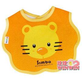 小獅王辛巴(S:5118) 造型圍兜 - 100%純棉布 、底層防水加工處理-隨時保持乾淨清潔