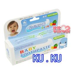 KU.KU 酷咕鴨-1052 幼兒牙膏50g (綜合水果)