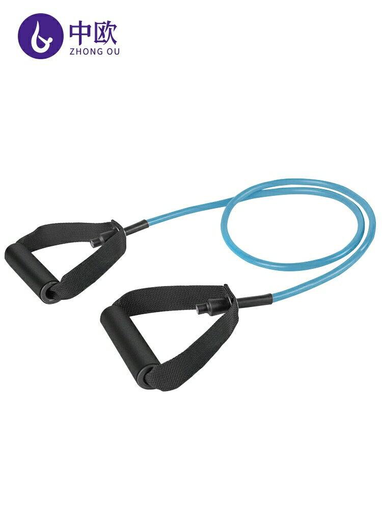 中歐彈力繩健身女彈力帶拉力繩家用器材瘦手臂力量訓練乳膠拉力器 雙12購物節