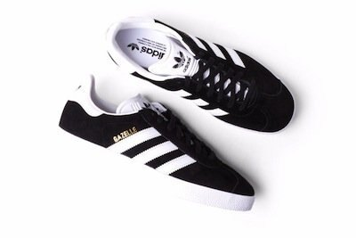 ADIDAS ORIGINALS GAZELLE 黑 白 麂皮 男鞋 US 6~12 BB5476 D,E