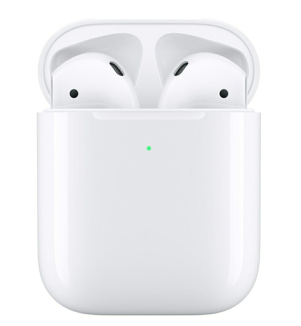 Apple 蘋果 AirPods 搭配無線充電盒 藍芽耳機二代   台灣公司貨 0