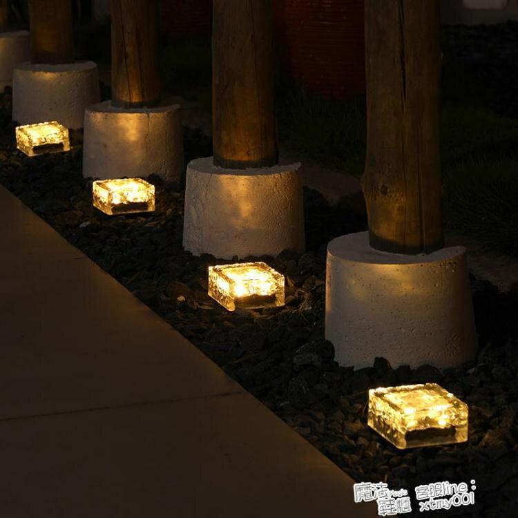 太陽能庭院燈花園別墅戶外草坪家用陽台天黑自動亮防水裝飾地埋燈ATF