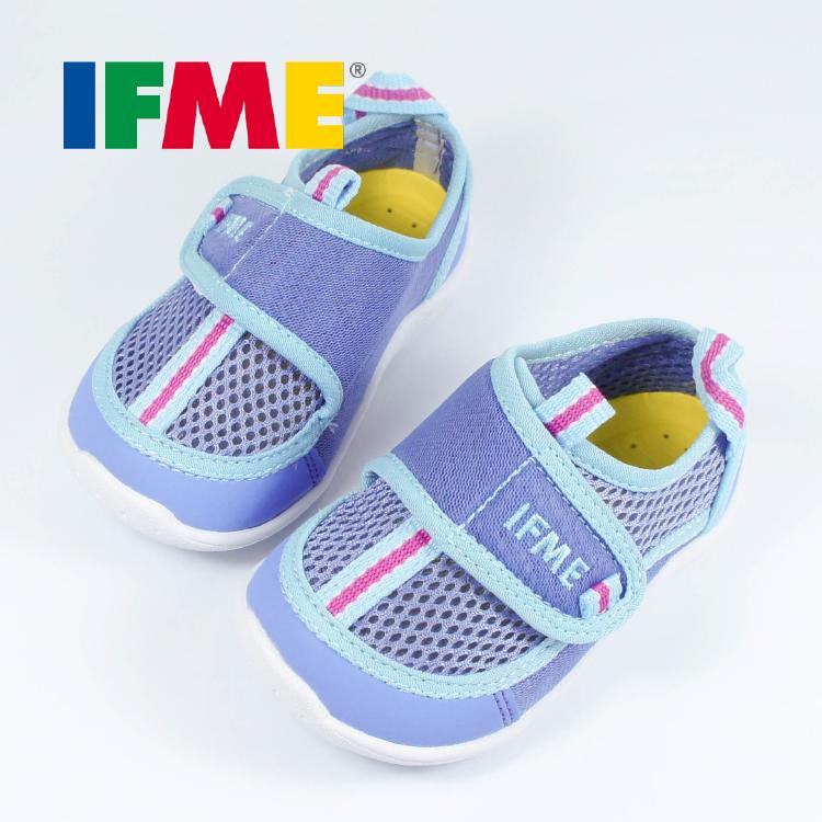 BitBit童鞋▸ IFME (12.5-14.5CM) 丁香紫・日本機能水涼包鞋 / IF22-8003PE