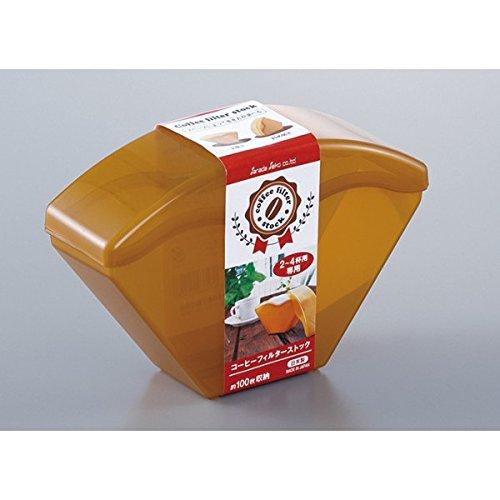【百倉日本舖】日本製D-5309咖啡濾紙收納盒(2~4杯)