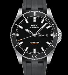 MIDO 美度 OCEAN STAR 海洋之星系列 潛水錶 M0264301705100 黑 42mm