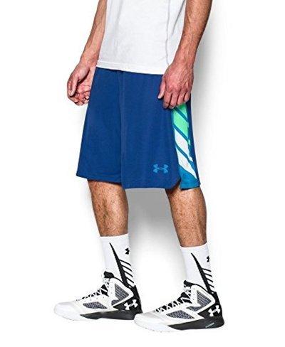 《UA出清5折》Shoestw【1271966-401】UNDER ARMOUR UA服飾 短褲 運動褲 11吋籃球褲 皇家藍 男生