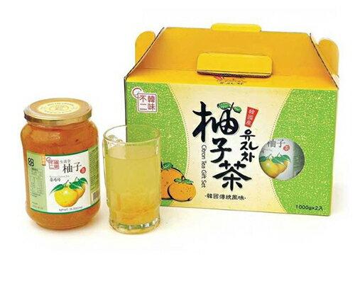 【 現貨 】韓味不二 CITRON TEA水果茶飲組1公斤/2入