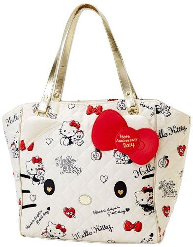 <br/><br/>  X射線【C059982】Hello Kitty 40週年手提袋,收納包/文具包/隨身包/手提包/零錢包/交換禮物/禮品<br/><br/>