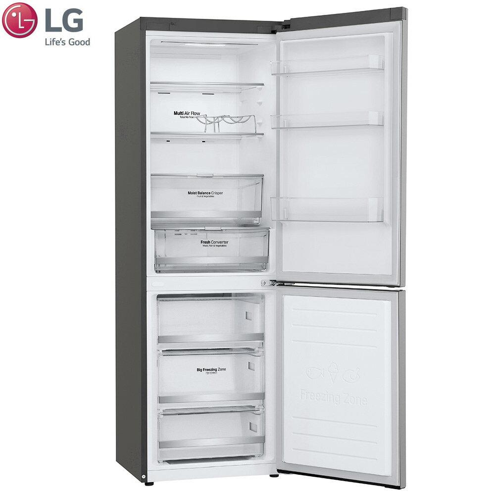 LG 樂金 GW-BF389SA  冰箱 343L 2門 WiFi直驅變頻晶 鑽格紋銀