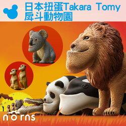 【日本扭蛋 Takara Tomy戽斗動物園】Norns 厚到星球 戽斗動物園 熊貓之穴 轉蛋 戽斗生物