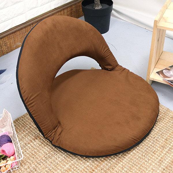 多用途和室椅 /  野餐椅 / 坐墊 《仿麂皮日式圓型和室椅》-台客嚴選 1