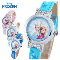 兒童節禮物Children's Day到新款2015新品 Disney 迪士尼 frozen冰雪奇緣兒童手錶/石英錶