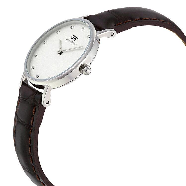 瑞典正品代購 Daniel Wellington 0922DW 銀 玫瑰金  真皮 錶帶 男女錶 手錶腕錶 26MM 3